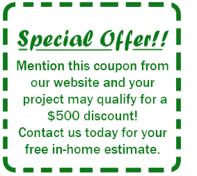 $500 Discount Coupon Copper Creek Construction