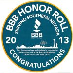 BBB Complaint Free badge