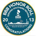 BBB Complaint Free badge