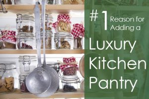 luxury kitchen pantry